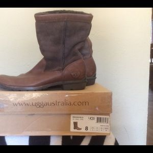 Ugg square toe boot